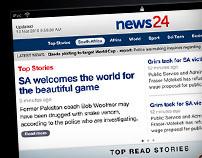 News24 iPad App