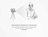V.Shantaram (116th Birthday)