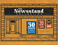 The Newsstand Collection - FONT BUNDLE