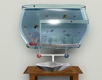 Aquarium Sink and Faucet