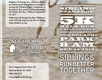 Sibling Stampede Trifold Brochure