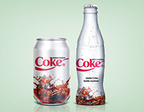 Watermelon Coke - Packaging