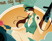 Empire City Armed Forces prints