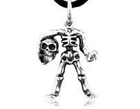 Man Silver Pendants