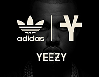 Adidas X Yeezy by Kanye West | Co-Branding Ads Concept