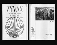 """ZYVAX"" HARMONIC RATIO NOTEPAD"