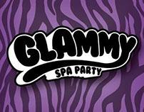 Glammy spa party logo