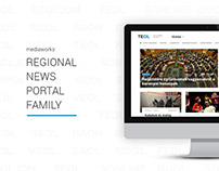 Design of the mediaworks regional news portal family