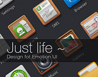 Just life android theme design