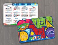 ANDA Award winner. BFC Calendar.