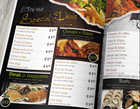 Multipurpose Menu Design