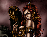 Teela of He-man and Masters of the Universe
