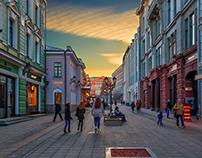 ГОРОДСКОЙ ПЕЙЗАЖ Cityscape