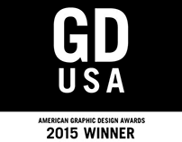 2015 American Graphic Design Awards