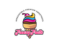 Freezy Fruits Brand Identity Design