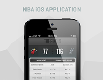 NBA iOS Application