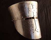 Crusader Helmet 12th Century