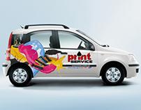 Samochód Print Service