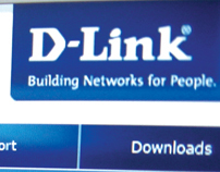 D-Link (website redesign concept)