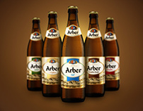 Arber beer label