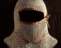 Chain Mail Coif 12th Century