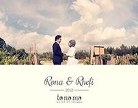 Rhefi & Rona prewedd