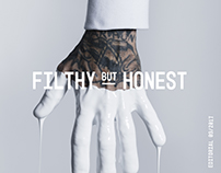 FILTHY BUT HONEST / EDITORIAL