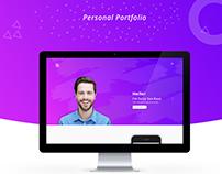 Personal Portfolio Design Concept