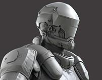 NPC Grunt sculpt - Modern Combat Versus - Gameloft