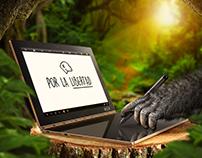 Lenovo | Social Media Planeta de los Simios