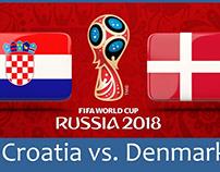 Croatia vs Đan Mạch