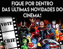 Trab. Faculdade - Flyer Cinema