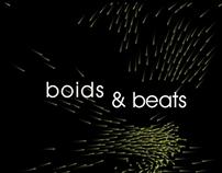 Boids & Beats: Ambiente interactivo