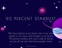 93% Stardust