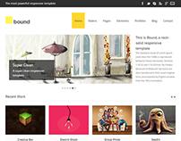 Responsive HTML5 Business/Portfolio Template - Bound