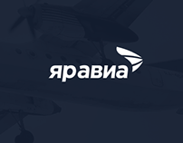 Яравиа air company — Brand Identity & Logo
