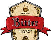 Bitter Beer Branding