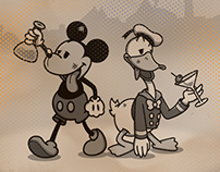Sicky Mouse & Donald Drunk