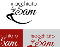 Logo & Sign Design for Macchiato by Sam Cafe