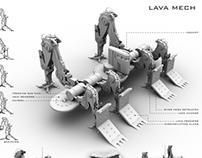Lava Mech