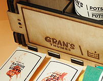 Gran's Thumbs Urban Farming Sowing Kit