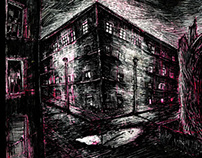 "Alone streets from ""The Overcoat"", Nikolai Gógol"
