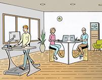 Concept Art: Future Work presentation - Healthrageous