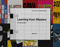 Learning from Masters Posters & Book