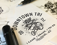 Downtown Tri Logo