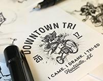 Downtown Tri Logo