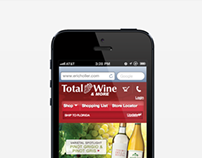 Total Wine Mobile Commerce Website