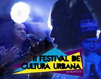 II Festival de Cultura Urbana de Petrópolis 2016