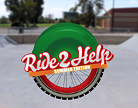 Ride 2 Help Stickers