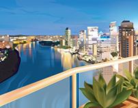 Brisbane Love Affair illustration